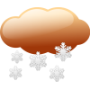 Snowing Clipart image #24391