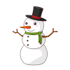 Download Free High-quality Snowman  Transparent Images image #30784