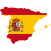 Spain Flag Vector Icon image #29886