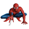 Spiderman, Spider Web, Sitting, Spiderman Costume image #47343