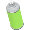 Background Spray Can Transparent image #28869