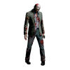 Standing Zombie Jacket Suit Sleeve Transparent Picture image #48832