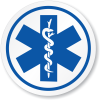 High Resolution Star Of Life  Clipart image #27565