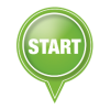 Start Green Icon Button image #44884