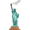 Statue Of Liberty Clipart Burning Torch image #48673