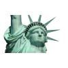 Statue Of Liberty, Face, Crown image #48663