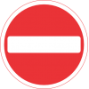 Stop Sign Round Icon image #13417