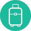 Suitcase Travel Flat Design Travel Icon  Suitcase  Suitcase Icon image #219