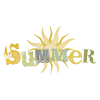 Summer With Sun Logo image #41161