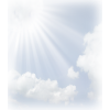 Sun Rays With Cloud image #36872