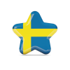 Free Sweden Flag Icon image #16118