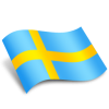 Library Sweden Flag Icon image #16132