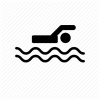 Swim, Swimmer, Swimming Icon image #3771