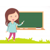 Teacher Clasroom Blackboard  Transparent Background image #46710