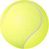 Tennis Ball  Transparent Photo image #43458