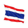 Thailand Flags Icon image #10289