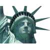 The Face Of The Statue Of Liberty, The Crown image #48674