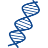 Thin And Blue Dna Transparent Image image #47652