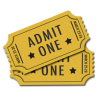 Ticket Admit One  Transparent Image image #49033