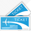 Ticket Tourism Travel Icon image #4968
