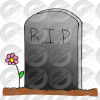 Tombstone Halloween Grove Icon image #4474