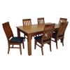 Top View Dining Table Dark Colored image #41423