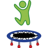 Collection Clipart Trampoline image #37065