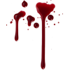 Transparent  Blood Drip image #45421