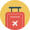 Travel Baggage Icon image #24183