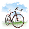 Travel Bicycle Icon image #45191