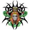 Tribal Skull Tattoos  Transparent Images image #30733