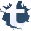 Free High-quality Tumblr Logo Icon image #16100