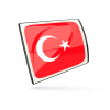 Turkey Flag Icons  Download image #20407