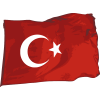 Turkey Flag  Transparent Background image #45669