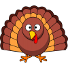 Use These Turkey Vector Clipart image #20367