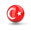 Turkish Download Turkey Flag  Clipart image #45672