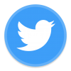 Twitter Bird Logo Transparent image #47490