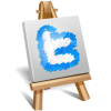 Twitter Painting Icon image #3858