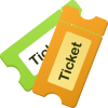 Two Ticket Symbol Download image #49024