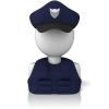 Users Police Icon image #29954