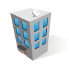 Vector For Free Use: Office Building Icon image #1766