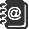 Very Basic Address Book Icon 512x512 Pixel image #1753