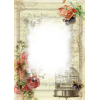 High Resolution Vintage Frame  Clipart image #30393