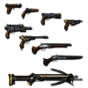 Weapons Background  Transparent image #40767
