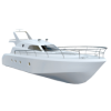 White Boat Transparent Background image #41388
