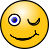 Winking Smiley Download Ico image #14755