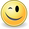 Winking Smiley .ico image #14742