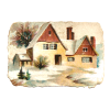 Image Winter House Transparent thumbnail 31448