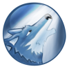 Wolf Icon Blue Moon image #2876