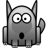 Wolf Icon image #2860